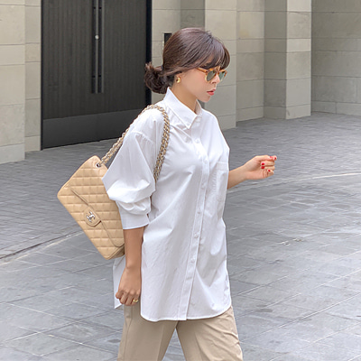 Victoria loose-fit shirts
